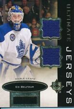 2013/14 Upper Deck Ultimate Collection UJ-EB Ed Belfour Jersey Relics Insert