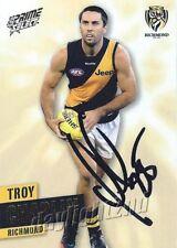 ✺Signed✺ 2013 RICHMOND TIGERS AFL Card TROY CHAPLIN