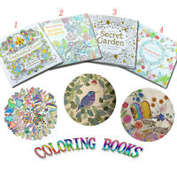 NEW Enchanted Forest An Inky Quest Coloring Painting Book Adult Kids Gifts