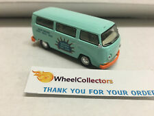 Motor World * LOOSE Greenlight 1/64 Scale * Volkswagen Type 2 Bus Teal * H211