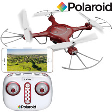 Polaroid PL2000 Quadcopter with HD WiFi Video - Red