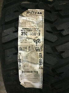 1 New 255 55 19 Goodyear Wrangler MT/R Mud Tire