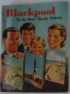 vintage holiday brochure - Blackpool for the ideal family holiday.