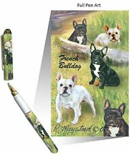 New French Bulldog Designer Pen in Gift Box by Ruth Maystead Bulldogs Bull Dog