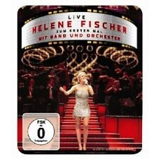 """HELENE FISCHER """"LIVE-ZUM ERSTEN MAL MIT BAND.."""" DVD NEU"""