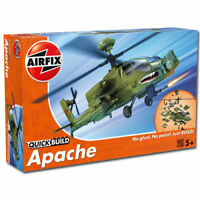 AIRFIX Quickbuild Apache Helicopter Model Kit BNIB RRP £12.99 OUR PRICE £10.99!