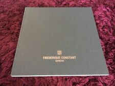 Frederique Constant Watch Catalogue 2018 / 2019 - UK Issue