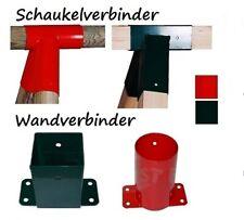 Schaukelverbinder Holzverbinder Wandverbinder Spielturm Spielplatz Holzschaukel