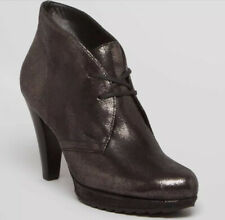 Paul Green Bootie Bronze Metallic Lace Up Platform Ankle Bootie 5 US 7.5 $398