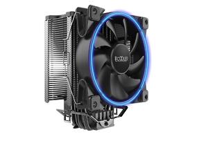 PCCOOLER GI-X6 CPU-Kühler, 120mm Lüfter Blau, 160W TDP, Für Intel/AMD