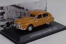 Hotchkiss Gregorie 1952 Oro Metálico 1:43 Ixo Altaya