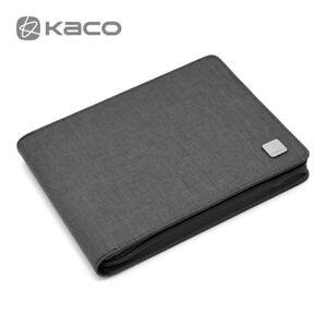 KACO Fountain Pen Pouch Pen Case Bag Business Style for 20 Pen Gray Waterproof