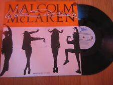 "a3 12"" vinyl record MALCOLM MCLAREN AND THE BOOTZILLA ORCHESTRA WALTZ DARLING"