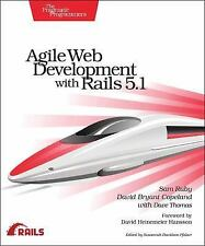 Agile Web Development with Rails 5. 1 by Dave Thomas, David B. Copeland and...