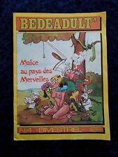 Bedeadult - Malice au pays des merveilles - Bimestriel N°4 adulte curiosa