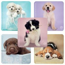 20 Rachael Hale Dogs STICKERS Party Favors Birthday Treat Bags Puppies