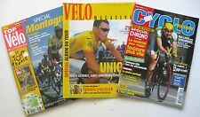 Top Velo Cyclo Passion Lot 3 bicycling magazines French Tour de France racing