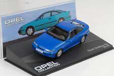 Opel Calibra V6 1993 / 1997 blau metallic 1:43 IXO Altaya Collection