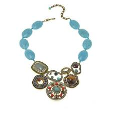 """Heidi Daus """"Deco-Page"""" Bead and Crystal Drop Necklace HSN SOLD OUT $500"""
