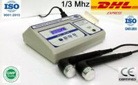 Physiotherapy Ultrasound  1Mhz & 3Mhz Dual Head  Ultrasound Therapy Machine 103