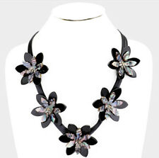 MARNI H&M Abalone Bloom Flower Necklace
