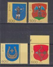 Weißrußland 615/16+658/59 Stemma (MNH)