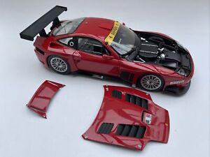 Ferrari 575 GTC Evoluzione diecast model road car Red 1:18th scale Kyosho 08392B