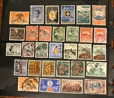 CEYLON postage stamps lot of 30  old