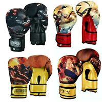 EVO Kids Boxing Gloves Junior MMA Punch Bag Mitts Muay Thai Sparring Training