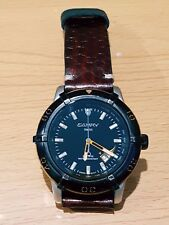 Vintage Toyota Camry Racing Swiss Watch Sapphire Cobra Genuine Leather Limited.