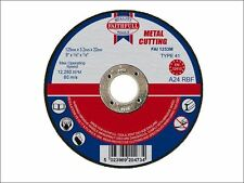 Faithfull - Cut Off Disc for Metal 125 x 3.2 x 22mm