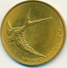 COIN / SLOVENIA / 2 TOLARJA 2001 UNC       #WT13397