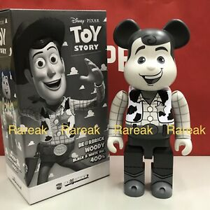 Medicom Bearbrick 2019 Disney Toy Story 400% Woody Cowboy Mono Be@rbrick