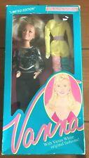 HSC 1990 Vanna White 001 Black Dress DOLL NEW IN BOX