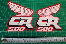 88' 1988 CR500 dirtbike decals stickers CR 500 CR500R 500R AHRMA VMX Elsinore