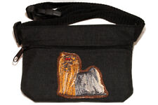 Yorkshire Terrier - Yorkie  Dog treat pouch/bag for dog shows & training.