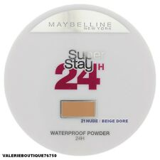 Poudre compacte Super Stay 24 H waterproof  21 Nude Beige doré gemey maybelline