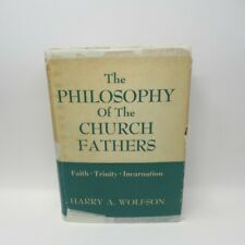 The Philosophy of the Church Fathers Harry A. Wolfson 1956 Hardback Harvard Uni