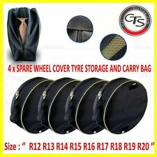 4 x WINTER WHEEL TYRES STORAGE COVER SPARE BAGS R13 R14 R15 R16 R17 R18 R19 R20