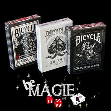Lot 3 jeux Bicycle GHOST - BLACK TIGER - GUARDIANS - Magie Poker
