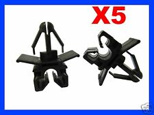 5 single brake pipe line cable holder clips maximun diameter 6 5mm