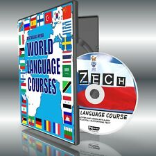 LEARN TO SPEAK CZECH PC CD LANGUAGE COURSE EASY BEGINNER PROGRAM MP3 + TEXT NEW