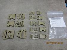 NEW ILBE Buckle Repair Set Kit DCU Desert Tan Nexus Fastex Coyote 16 piece MOLLE