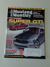 Mustang Monthly Magazine 2003 May Super GT 1991 SAAC Shelby Bullitt Clone Build