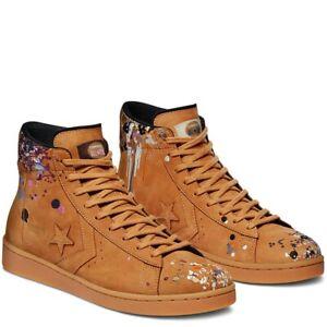 Converse x Bandulu Pro Leather Mid Shoes Men's 8 Woman's 9.5 169908C