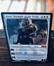 MTG RARE MYTHIC AJANI, STRENGTH OF THE PRIDE. NEVER PLAYED. CORE 2020