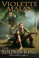 The Soldier King: A Novel of Dhulyn and Parno-ExLibrary