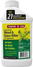 32 Oz Compare-N-Save Best Result No Weed & Grass Root Killer Herbicide Rainproof