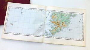 SCOTLAND, 1924 - ISLE OF HARRIS & ST KILDA, Vintage Cloth OS Map