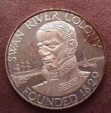 1979 Swan River Colony 150th Anniversary, Silver Medallion in fine silver -lot 2